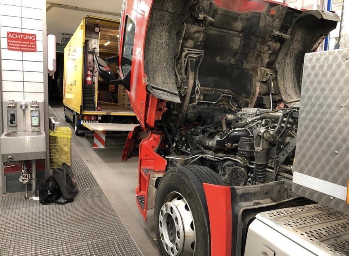 Truck-Service Werkstattwagen